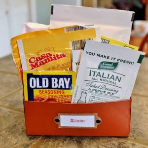 How to Upcycle a Mix Holder From a Keurig Box