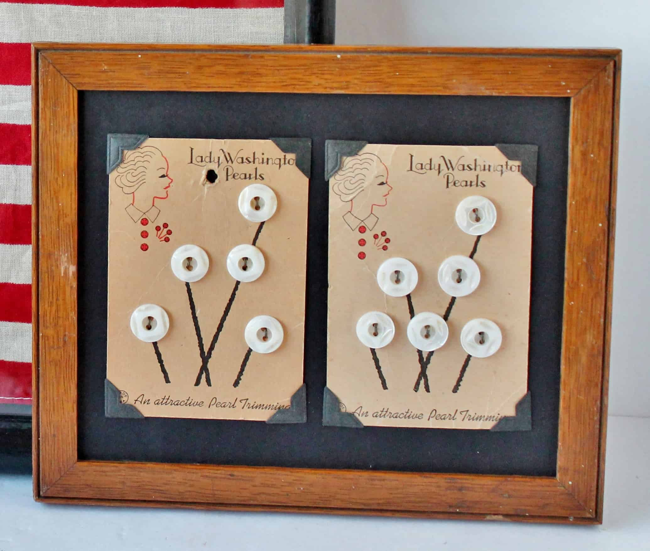 Ten Decorating Ideas Using Vintage Buttons
