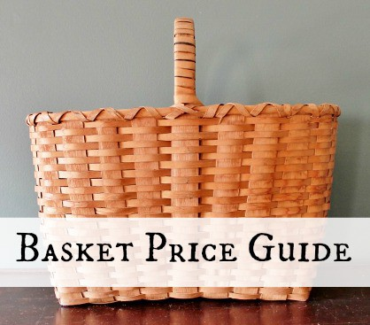Antique & Vintage Basket Price Guide button