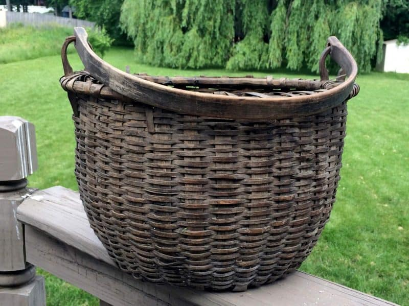 antique taghkonic basket