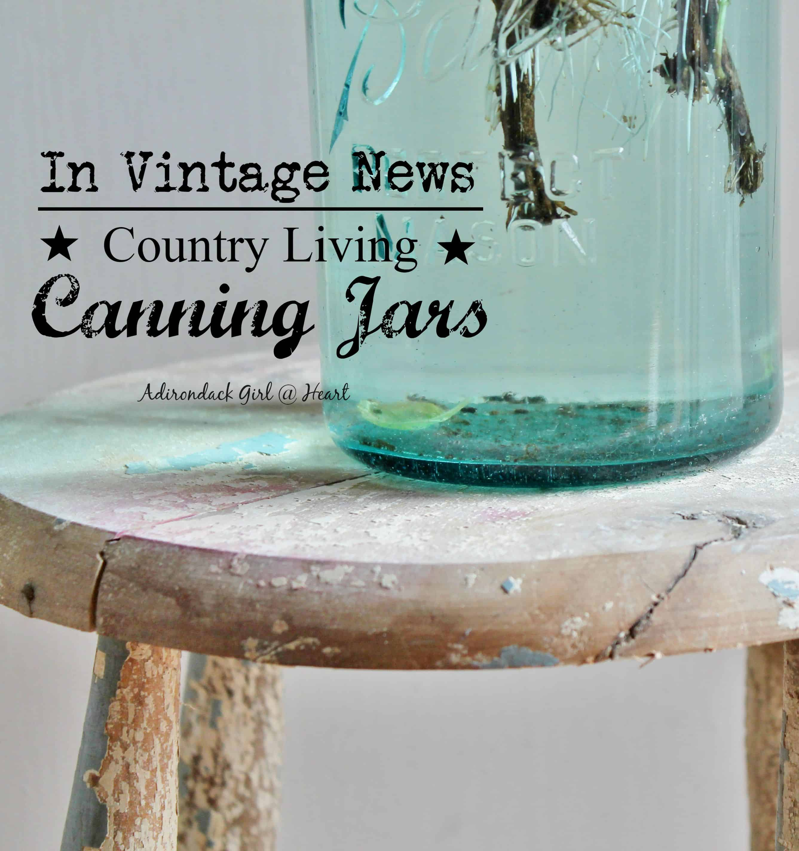 Collecting Vintage & Antique Canning Jars • Adirondack Girl