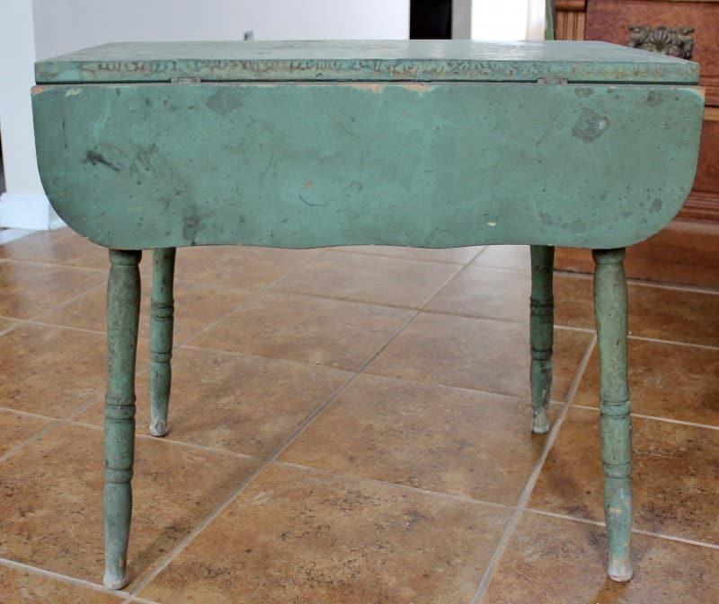 vieille table de ferme vintage tendance
