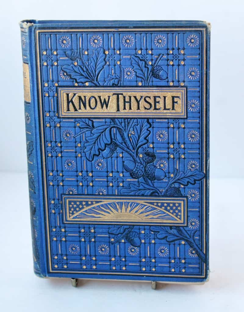 Book: Know Thyself