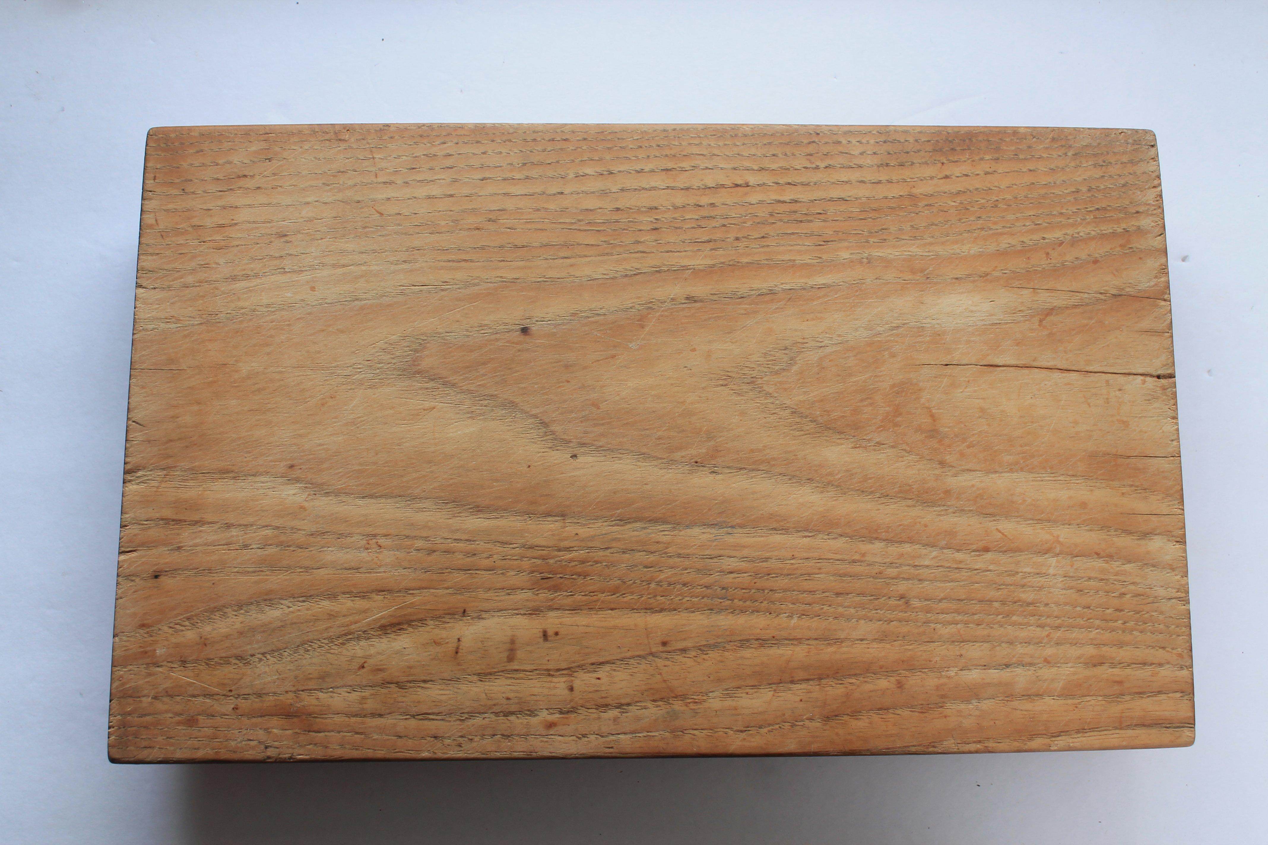 vintage bread board adirondack girl heart