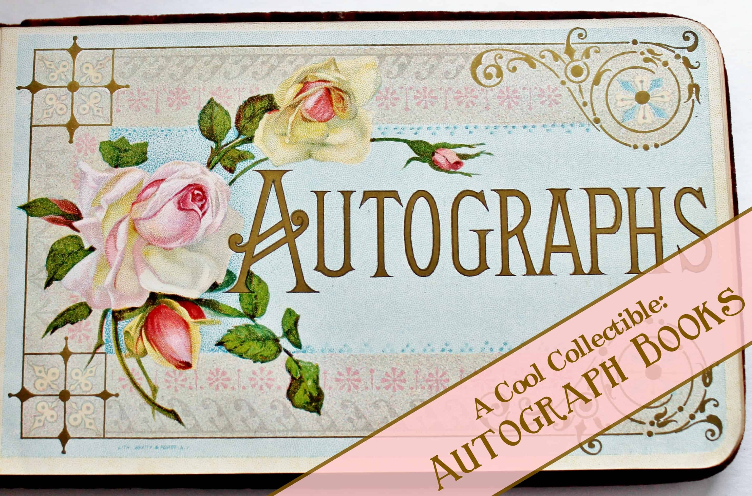 Old Book Covers For Sale : A cool collectible autograph books adirondack girl heart