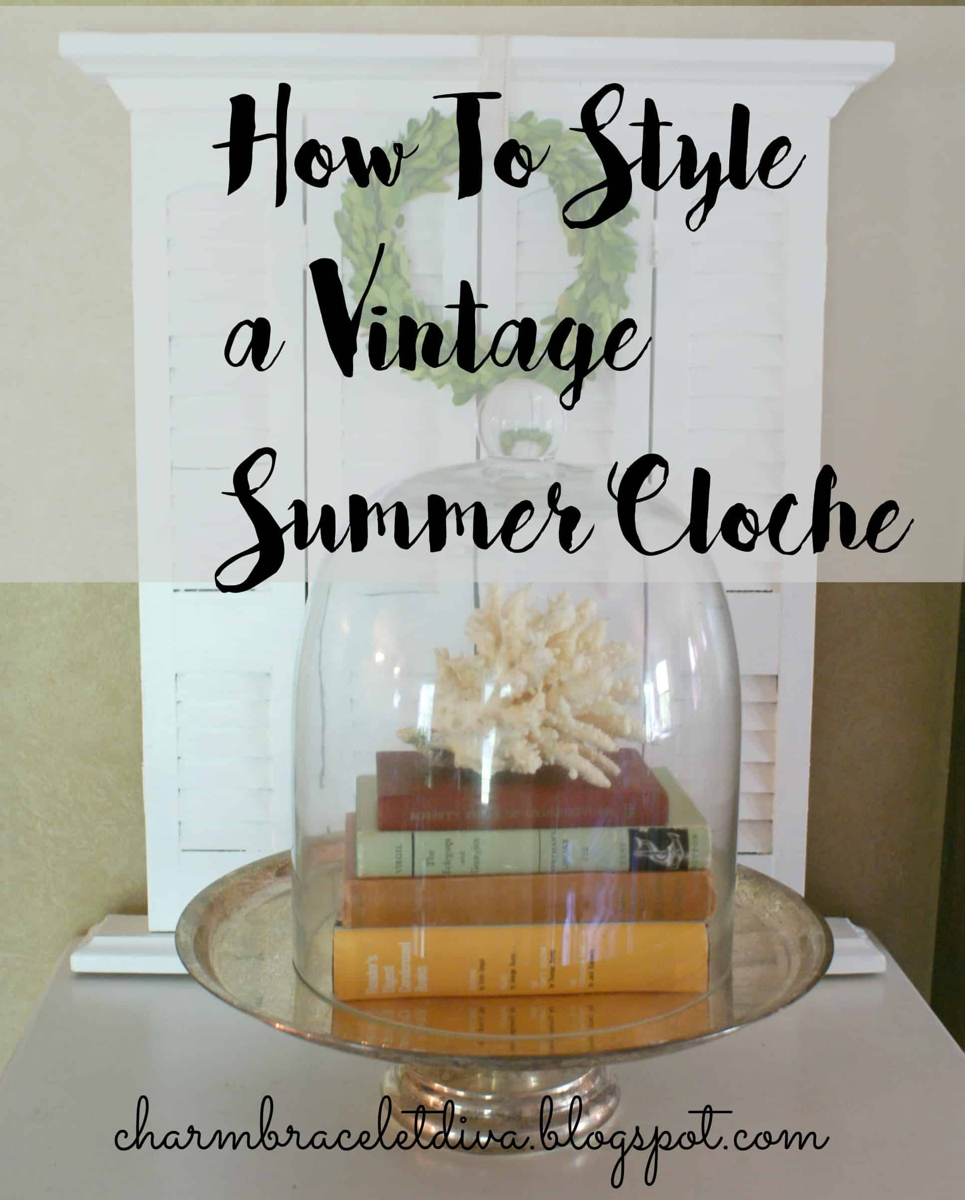 How to Style a Summer Cloche by Charm Bracelet Diva