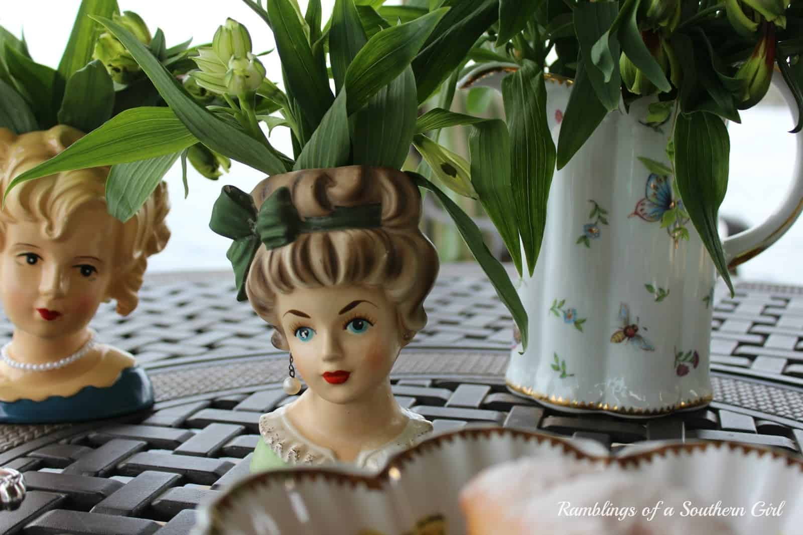 Ramblings of a southern girl Vintage Head Vases Cecilia's #34
