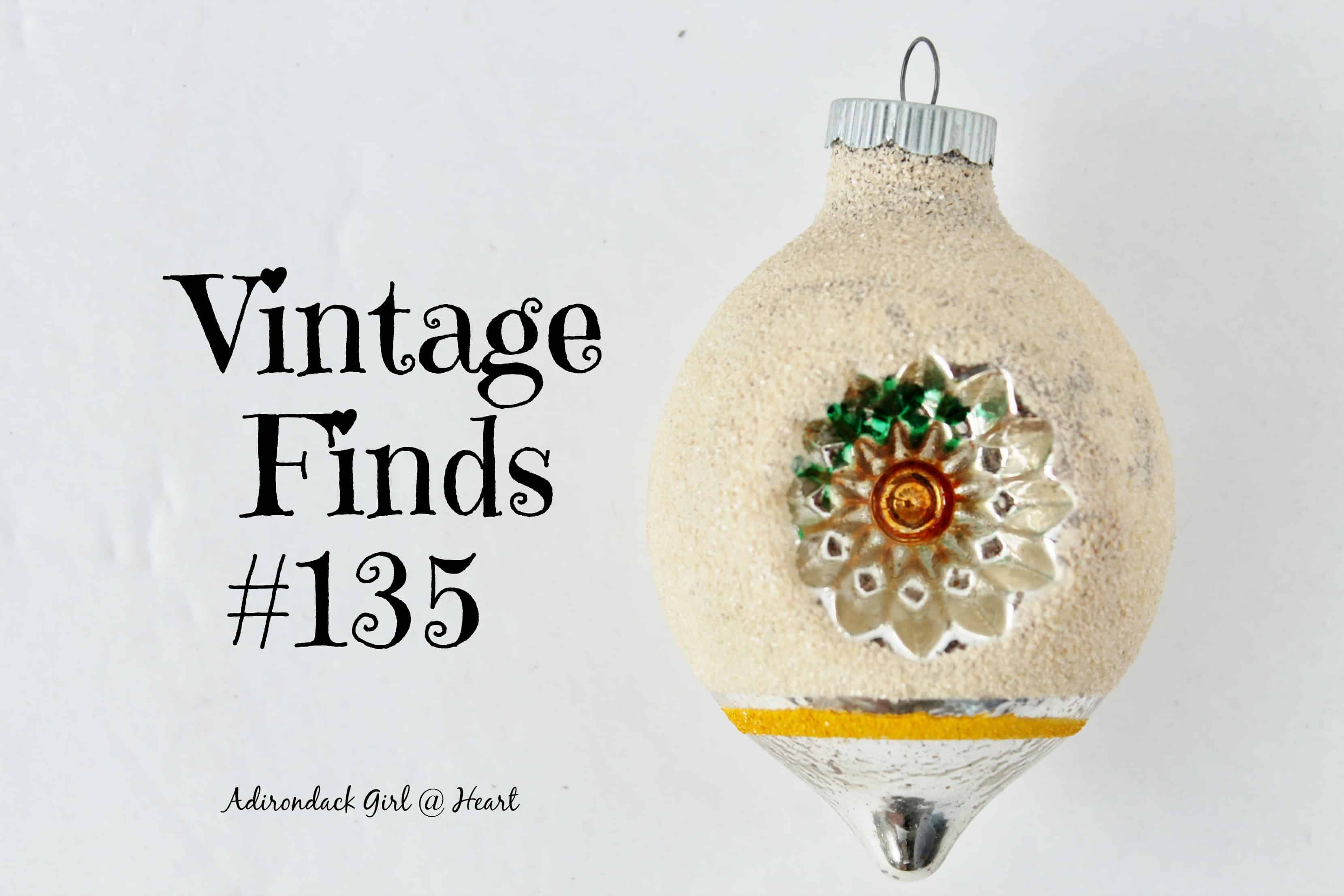 This Week's Vintage Finds #135 [Christmas in July