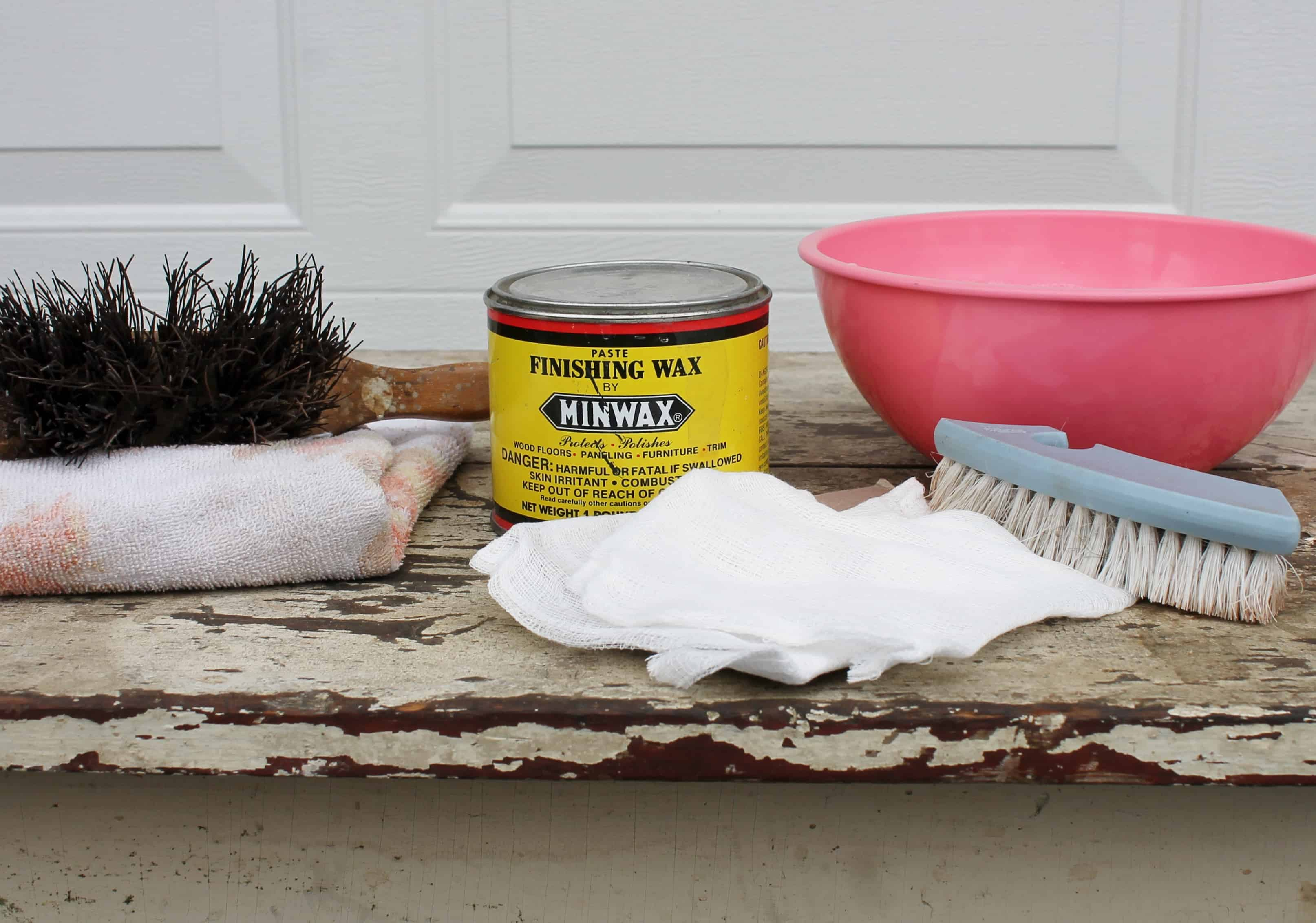 brushes-soapy-water-finishing-wax