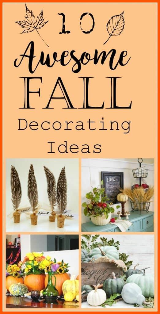 10 fall decorating ideas