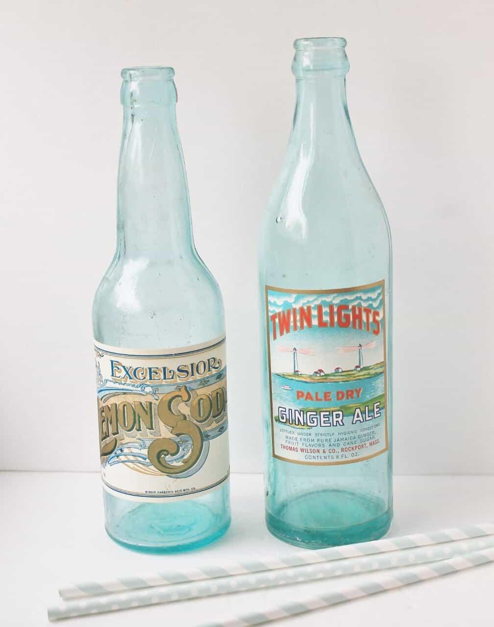 dating vintage soda bottles