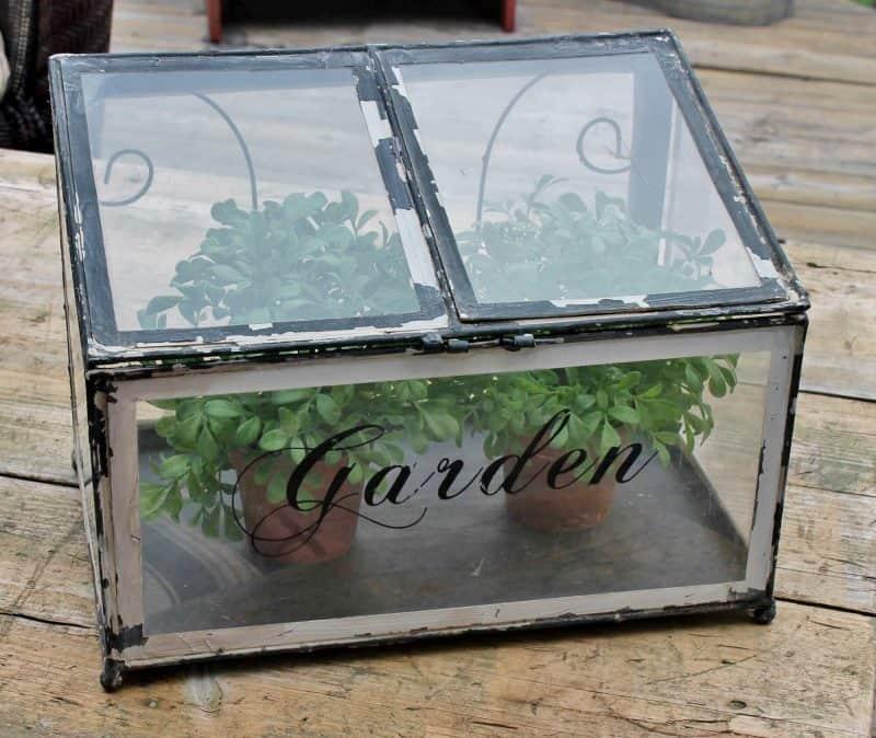 table à jardin ancienne vintage et tendance