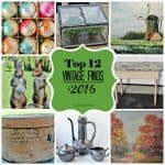 A Collage of my top vintage finds of 2016