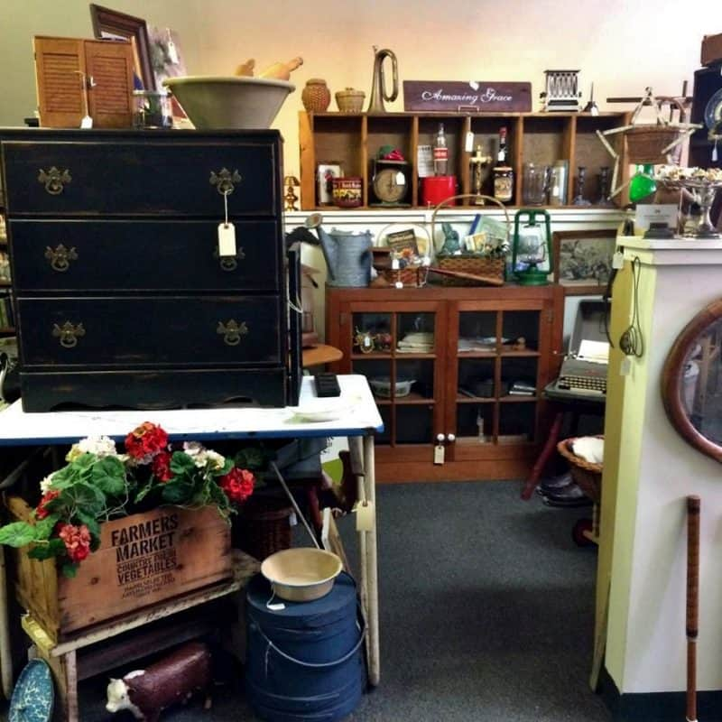 Gristmill Antique Center Booth