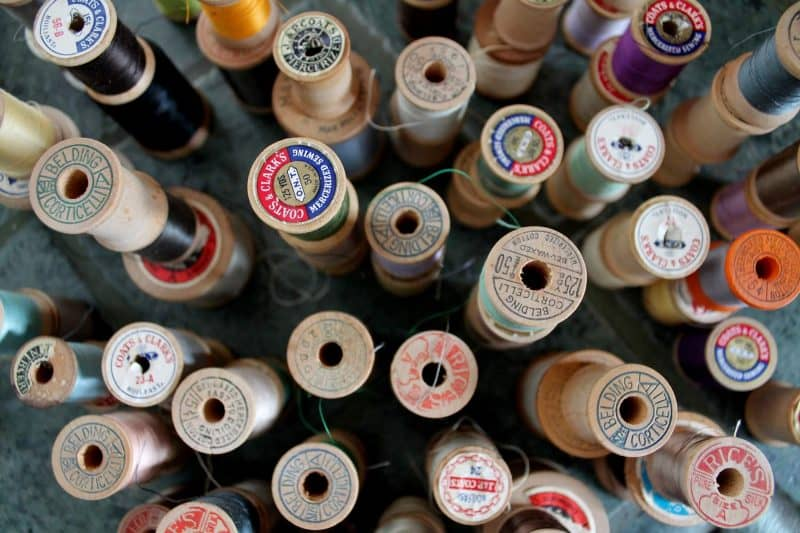 Collecting Vintage Thread Adirondack Girl At Heart