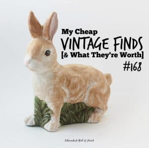 my cheap vintage finds and what they're worth