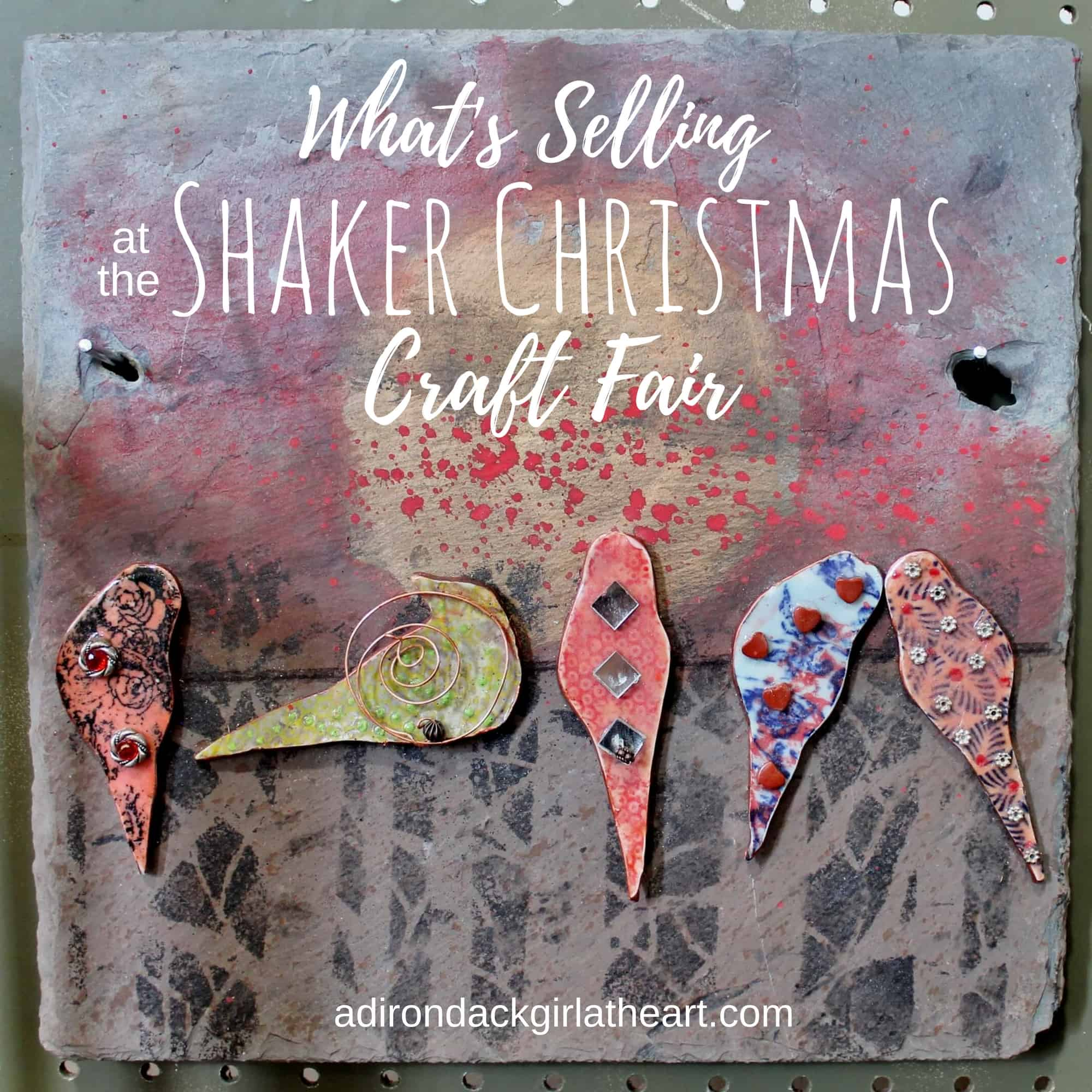 What 39 s selling at the shaker christmas craft fair for Craft fairs near me november 2017