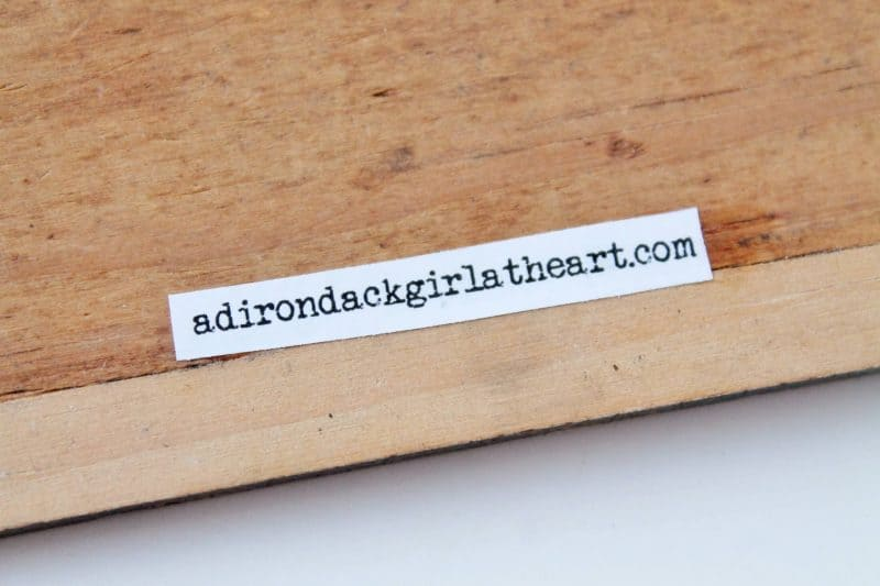 business label