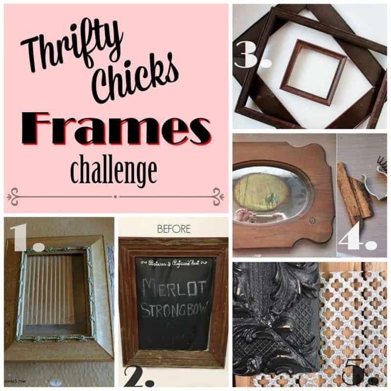thrifty chicks frame challenge
