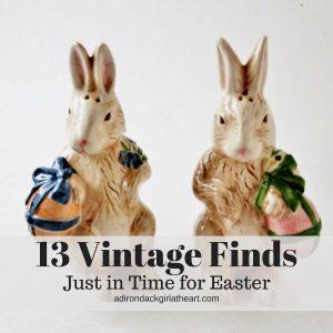 13 Vintage Finds Just in Time for Easter adirondackgirlatheart.com