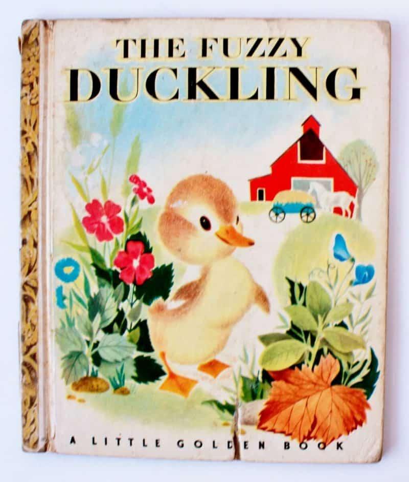 the fuzzy duckling little golden book
