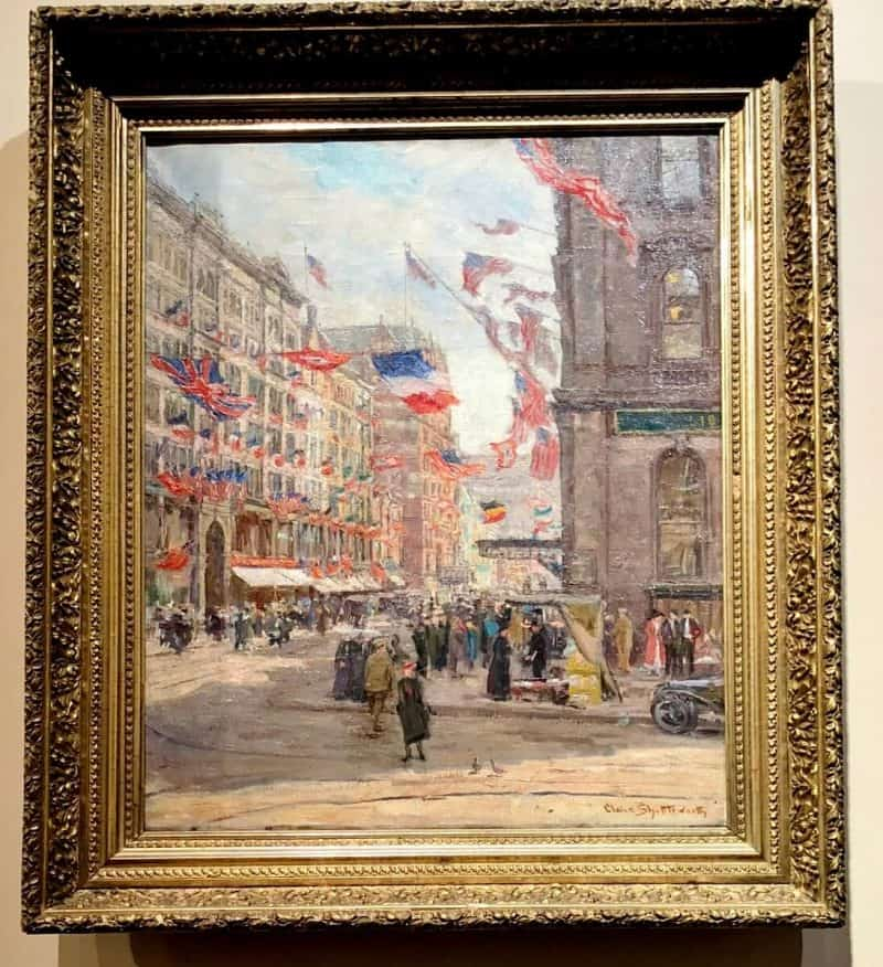 Avenue of the Allies, Claire Shuttleworth, 1918