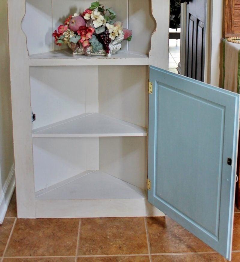 Corner Cupboard after vintage-style makeover (3) (1101x1200)