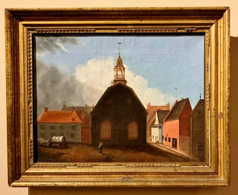 Old Dutch Church, Sexton, 1843