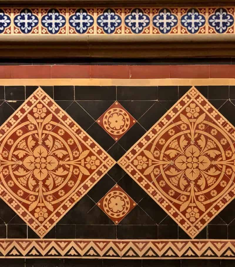 Tile in NYS Capitol