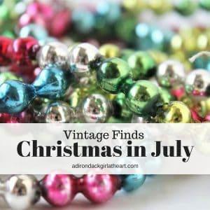 Christmas in july vintage finds adirondackgirlatheart.com