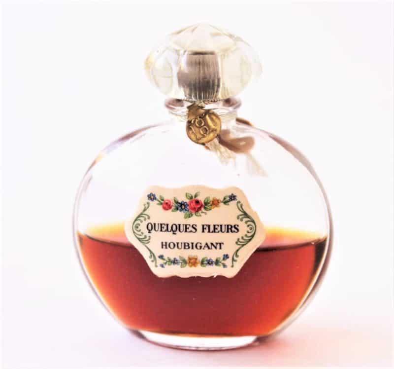 Vintage Houbigant Quelques Fleurs Perfume