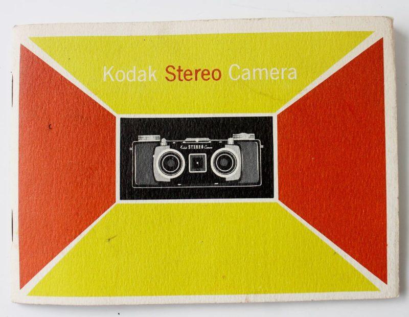 Kodak Stereo Camera Instruction Booklet
