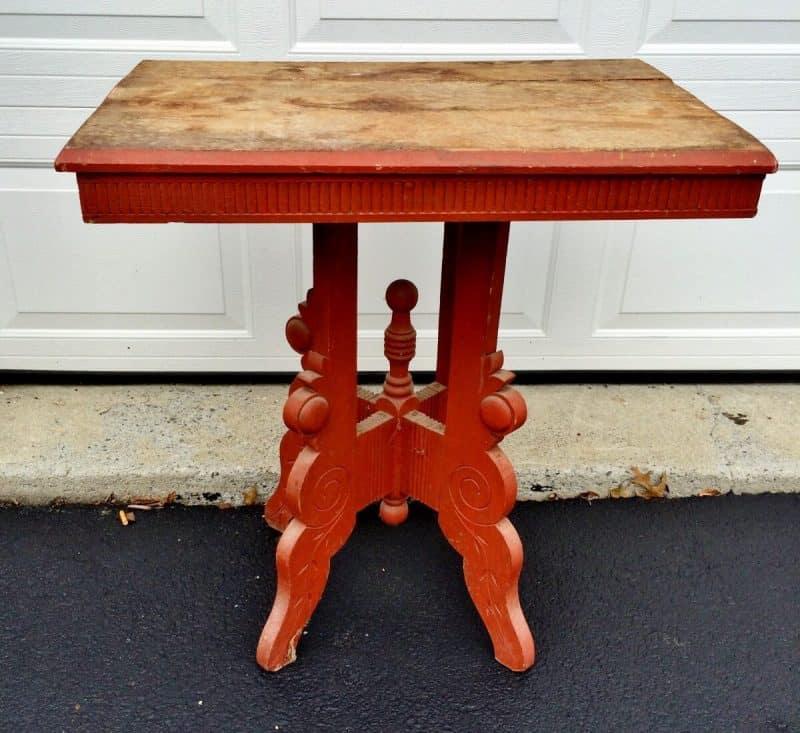 Vintage Eastlake Painted Table