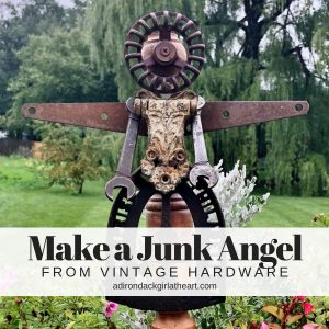 Make a Junk Angel from Vintage Hardware adirondackgirlatheart.com
