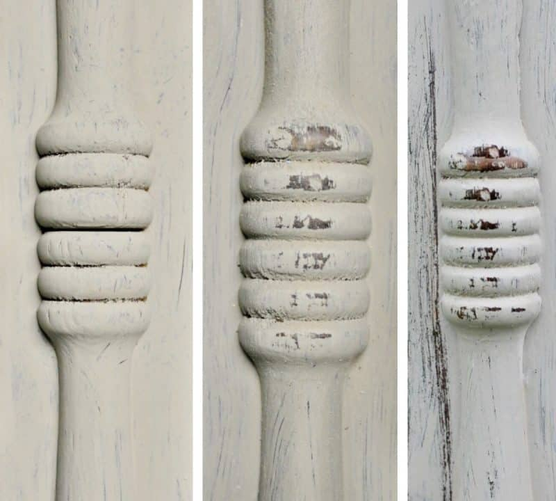 Series of closeups of mirror