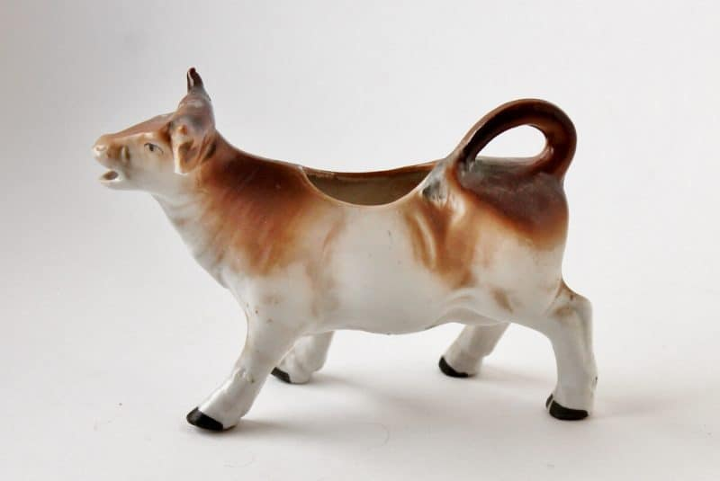 what's selling in vintage & antiques Antique German Cow Creamer