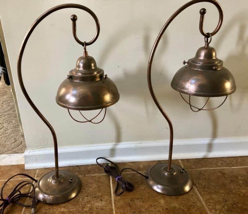 lampe ancienne vintage