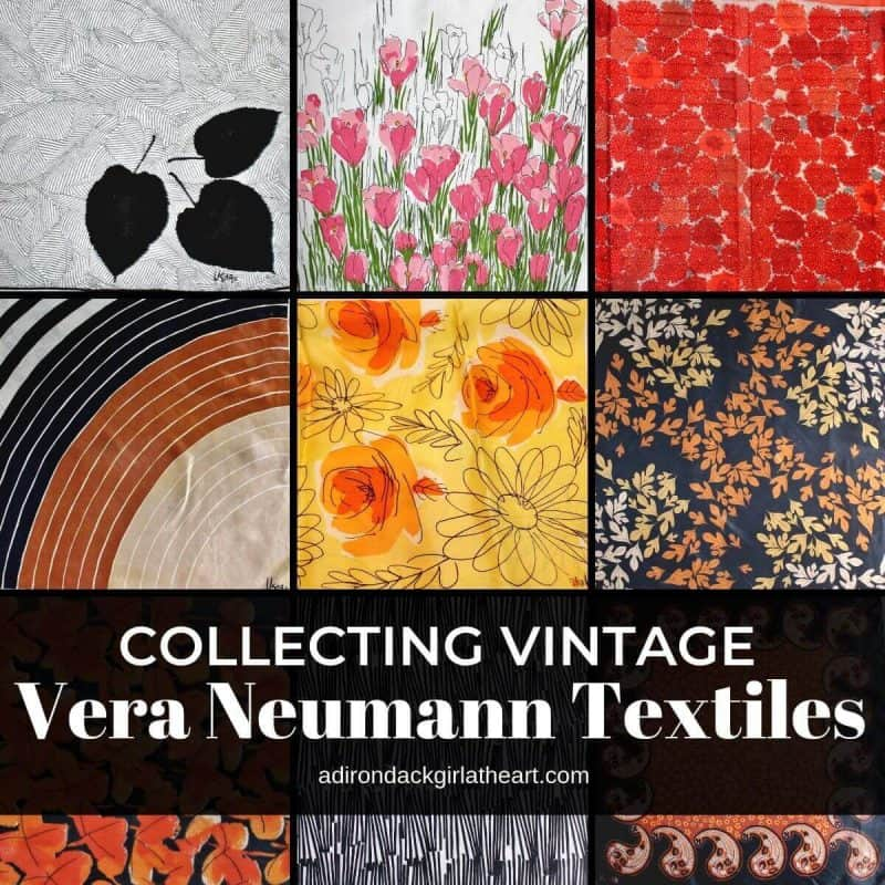 graphic relating to Printable Textiles referred to as Gathering Traditional Vera Neumann Textiles + Absolutely free Printable