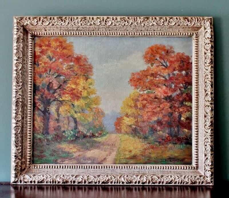 vielle peinture vintage