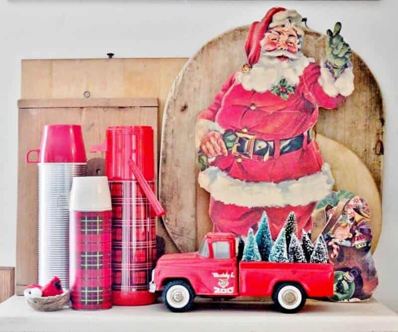 décoration de noel ancienne et vintage
