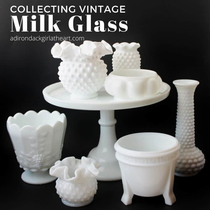 Collecting Vintage Milk Gl